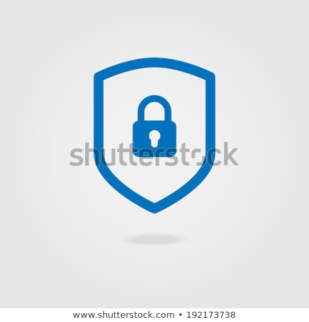 shield lock key safe and security stock photo © ustofre9