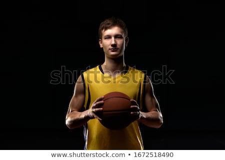portrait of boy exercising stock photo © zzve
