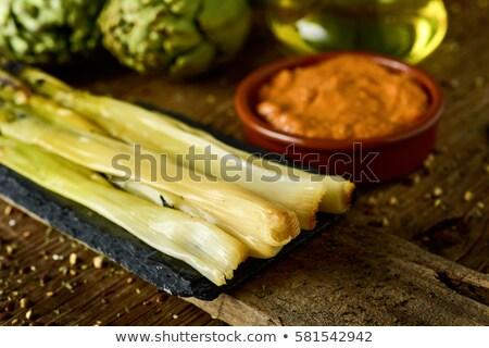 сырой · Sweet · лук · типичный · Испания · выстрел - Сток-фото © nito
