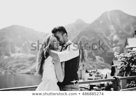 Handsome elegant couple Stock photo © PawelSierakowski