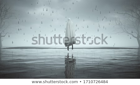 water ghost cross stock photo © rghenry