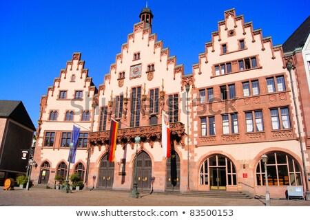 исторический центр Франкфурт основной Германия Сток-фото © Spectral