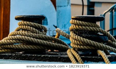 rust on dock stock photo © hofmeester