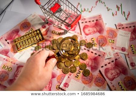 Estudio extranjero intercambio mercados primer plano financieros Foto stock © OleksandrO