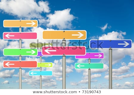 Information Overload on Highway Signpost. Stock photo © tashatuvango