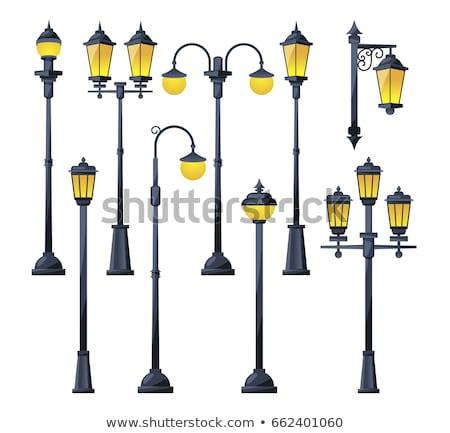 Classic Street Lamp Detail Stock photo © ajn
