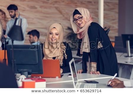 Portrait of a female university student/office worker Stock photo © lightpoet