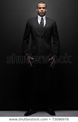 Friendly confident stylish young businessman Stock photo © AndreyPopov