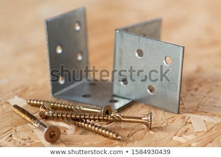 Screwing Chipboard Stock photo © Valeriy
