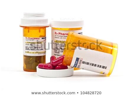 Money in a prescription Medicin Bottle Stock photo © Klinker