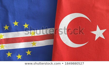 turkey and cabo verde flags stock photo © istanbul2009
