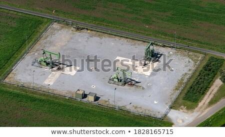 3 panoramas oil pumpjack. Stock photo © EvgenyBashta