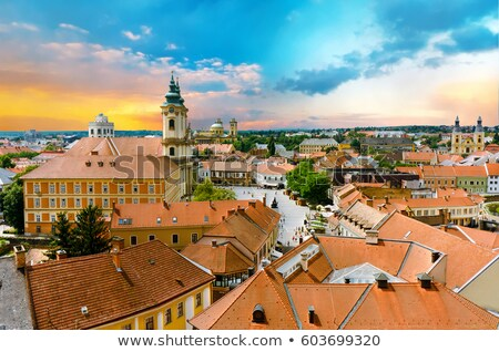 The medieval town of Eger  Stock photo © Zhukow