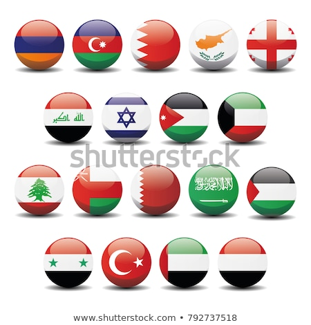 サウジアラビア レバノン フラグ パズル 孤立した 白 ストックフォト © Istanbul2009
