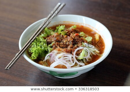 Penang Laksa or Assam Laksa Stock photo © tang90246
