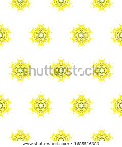 hand drawn polyhedrons seamless pattern Stock photo © TRIKONA