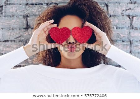 casual black girl stock photo © zdenkam