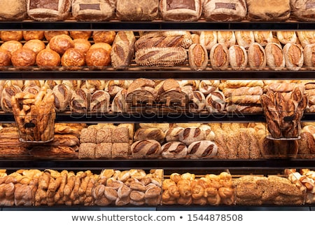 свежие · буханка · хлеб · группа · завтрак - Сток-фото © digifoodstock