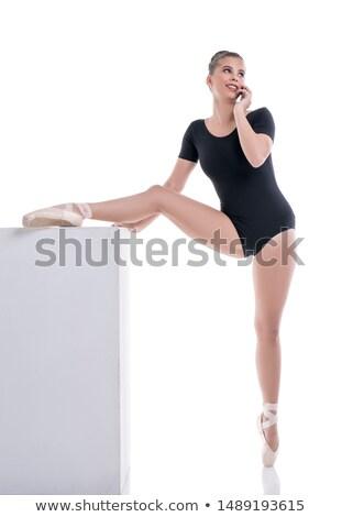 pompás · táncos · káprázatos · nő · okos · ruha - stock fotó © konradbak