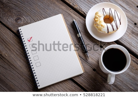 Budget sign on wooden table Stock photo © fuzzbones0