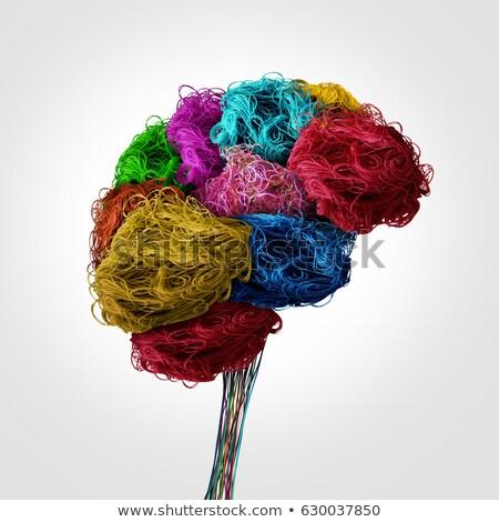 naaien · kleurrijk · mode · achtergrond · weefsel · witte - stockfoto © lightsource