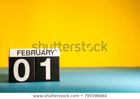 1st February Stock photo © Oakozhan