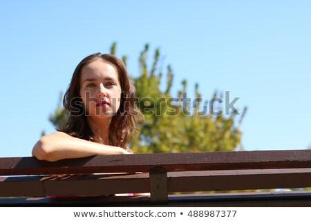 若い女性 · バスト · 芸術 · ルーム · ビジネス - ストックフォト © deandrobot