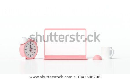 Alarm - Laptop Keyboard Concept. 3D. Stock photo © tashatuvango