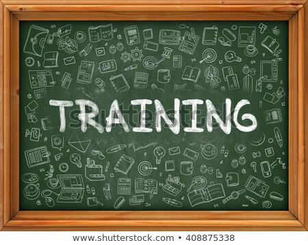 Professional Education Handwritten on Chalkboard. Stock photo © tashatuvango