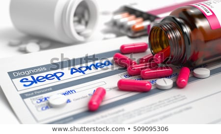 Health - Wording in Anamnesis. 3D Render. Stock photo © tashatuvango