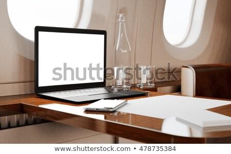 Business Tourism - on Laptop Screen. Closeup. 3D. Stock photo © tashatuvango