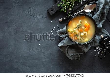 frutti · di · mare · alimentare · pasta · piatto · zuppa - foto d'archivio © yelenayemchuk