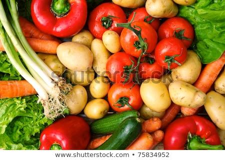 Krumpli zöldségpiac étel környezet új Stock fotó © FreeProd