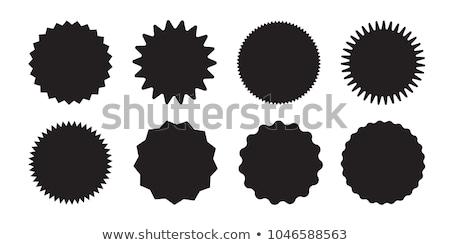 Venda adesivos conjunto colorido vetor Foto stock © milsiart