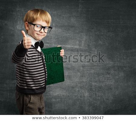 Pozytywny zestaw różny szkoły studentów Zdjęcia stock © toyotoyo