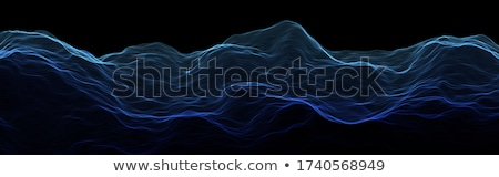 Music Background Vector. Sound Data Wave. Visual Explosion. 3D Illustration Stock photo © pikepicture