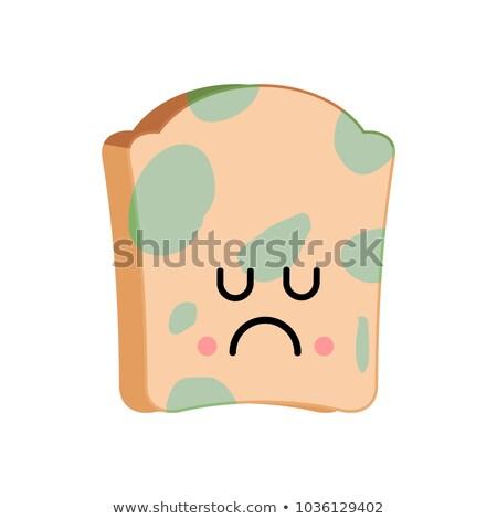 печально хлеб плесень продовольствие зеленый пшеницы Сток-фото © MaryValery