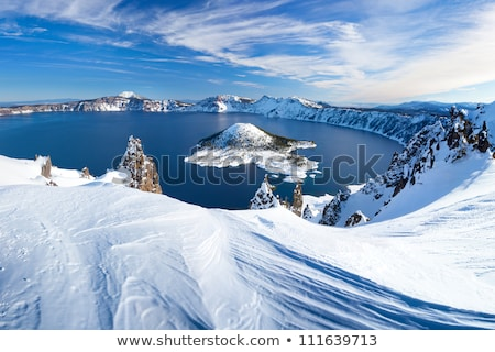 Quiet Lake in the Winter Stock photo © 2tun