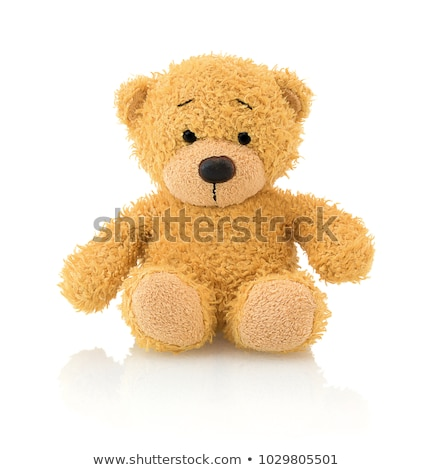 A yellow teddy bear Stock photo © bluering