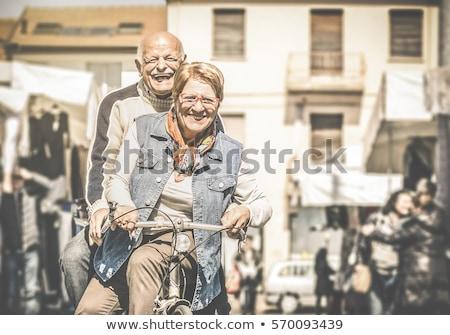 город старший люди города Сток-фото © robuart