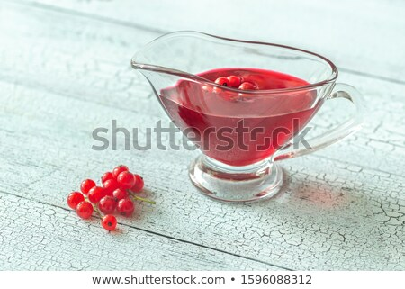 salsa · barco · rústico · mesa · listo · acción · de · gracias - foto stock © alex9500