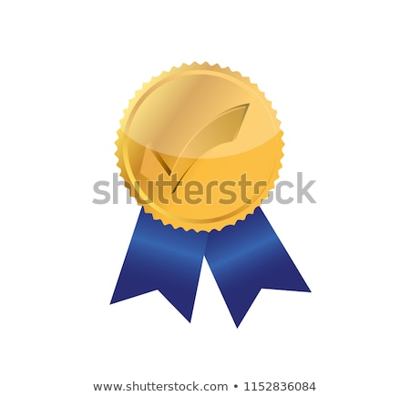 Check Mark in Circle, Prize Award for Achievements Stock photo © robuart