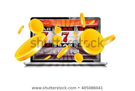 казино комбинация монетами фрукты Сток-фото © robuart