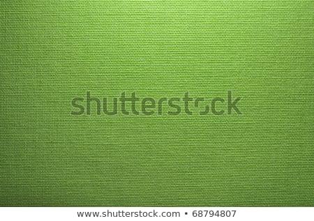 Stock fotó: Seamless Green Fabric Texture
