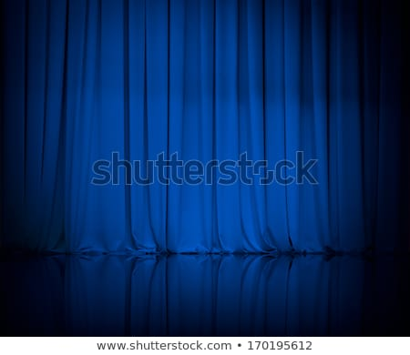classic blue velvet background Stock photo © neirfy