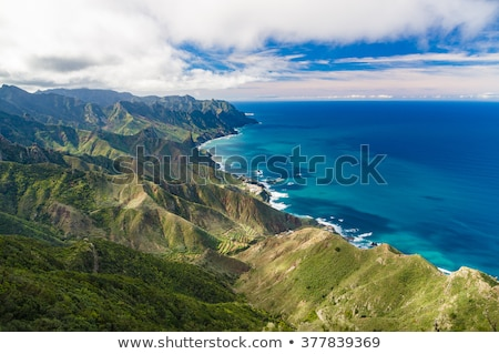 Mountain range in Anaga Natural Park In Tenerife, Canary Islands, Spain Stock photo © ruslanshramko