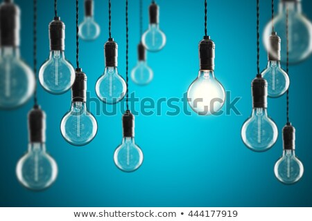 Vintage incandescent Edison type bulb Stock photo © cookelma