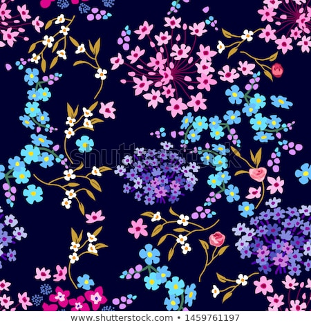 otanical seamless pattern with floral collection leaves and flow Stock photo © Margolana