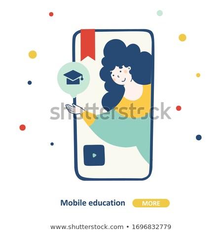 Online school platform abstract concept vector illustration. Stock photo © RAStudio