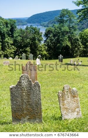 Edad cementerio transbordador parque servicio histórico Foto stock © backyardproductions